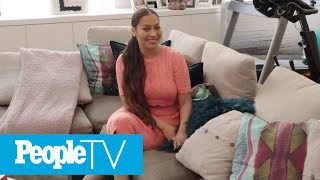 La La Anthony Opens Up Her Glamorous NYC Home — A Basketball Hoop In The Living Room! | PeopleTV