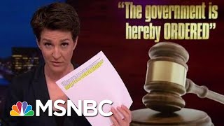Judge Orders Flynn-Related Redactions Removed From Mueller Report | Rachel Maddow | MSNBC