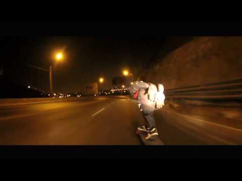 DH MEDIA Downhill Skateboarding Nocturno - Cerro Centinela, Lima, Peru
