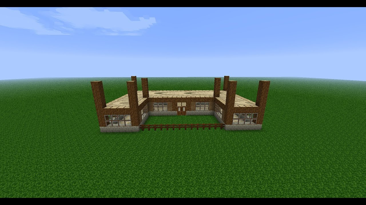 Turbo minecraft construction d'une maison ep 1 - YouTube RI05