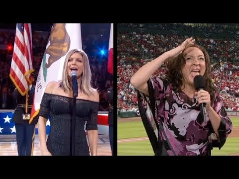 US National Anthem: Fergie VS Maya Rudolph