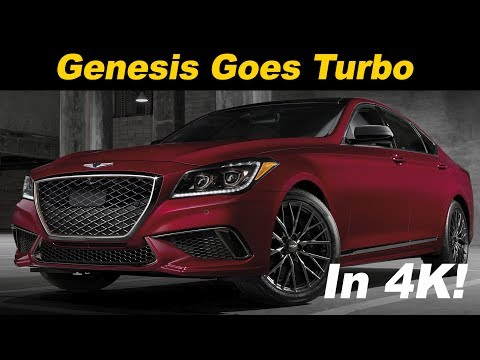 2018 Genesis G80 3.3T Sport Review and Road Test in 4K UHD!