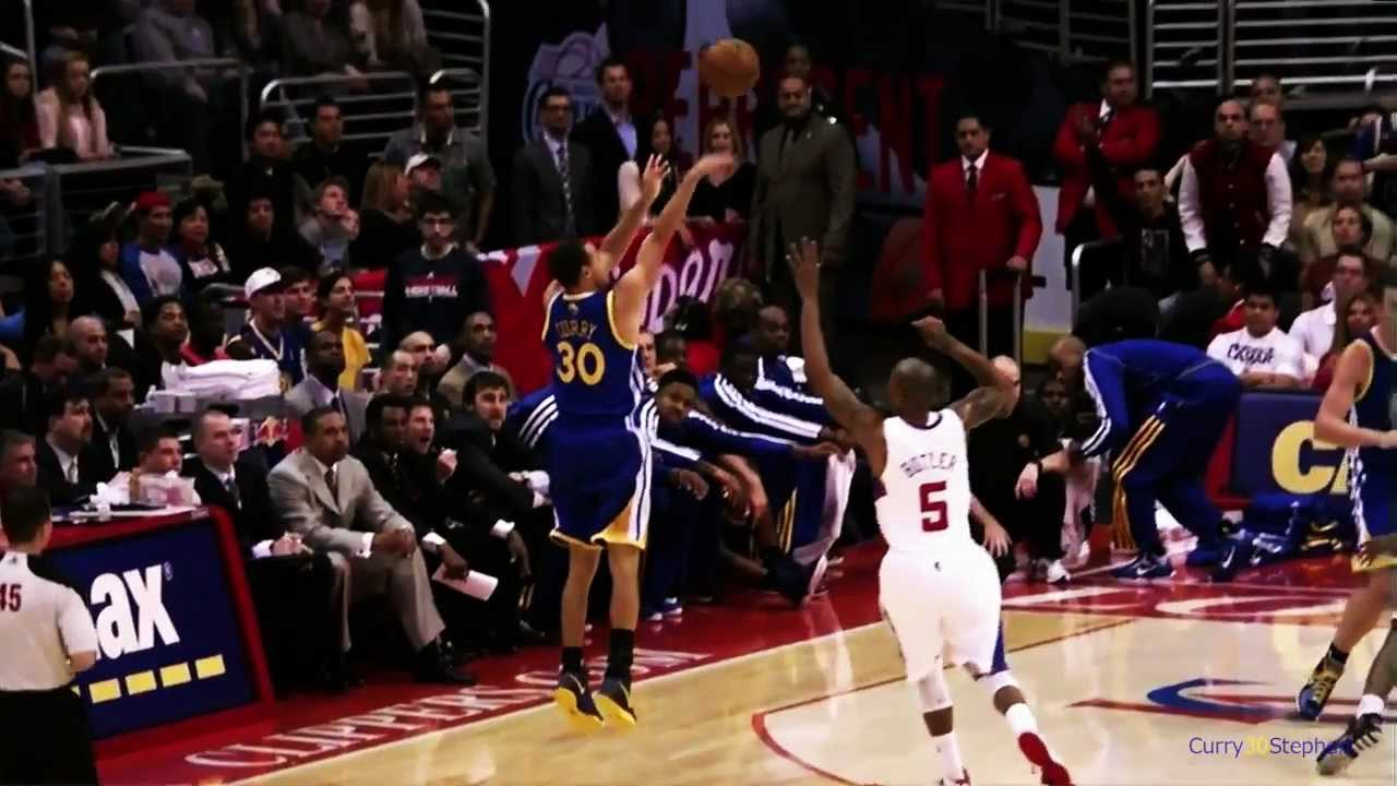Stephen Curry S Shooting Form I Slow Motion Hd Youtube