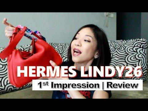 Hermes Lindy 26 | First Impression | Bag Review | Kat L