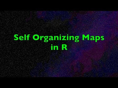 Self Organizing Maps in R | Kohonen Networks for Unsupervised and Supervised Maps