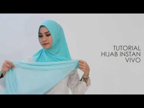tutorial hijab vivo by Zaskia Mecca