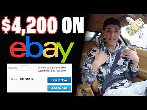 How I Made $4,200 On eBay Yesterday - Passive Income Guide!