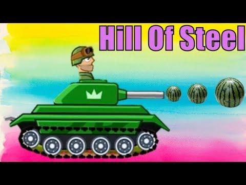 Game xe tăng – Chú xe tăng nóng tính | Hills of Steel