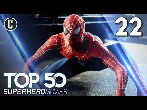 Top 50 Superhero Movies: Spider-Man - #22
