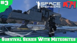 Space Engineers Survival Series: First Ship  [S1E3]