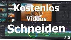 Das BESTE kostenlose SCHNITTPROGRAMM? |  Videos SCHNEIDEN mit DaVinci Resolve!