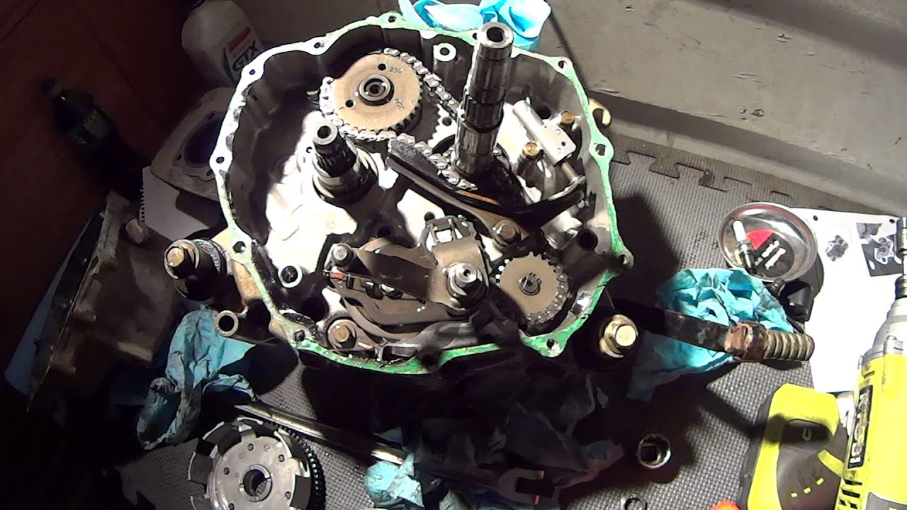 250ex oil pump chain and timing chains stretched 250ex oil pump chain and timing chains stretched