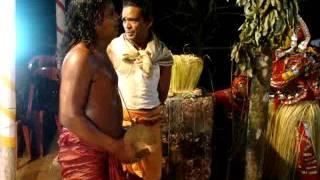 Tulu Paddana during Pilichamundi Bhuta Kola