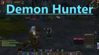 WoW: Demon Hunter (DH) Gameplay 2017 - World of Warcraft | Legion 2017 Gameplay