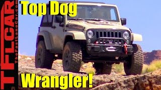 2017 Jeep Wrangler Rubicon Recon Off-Road Review: The New Top Dog Wrangler!