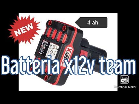 Battery 4 AH Parkside x12v Team NEW