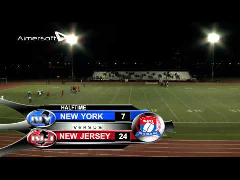 NUC New York vs New Jersey senior Football Game Week March 14th-16th 2014