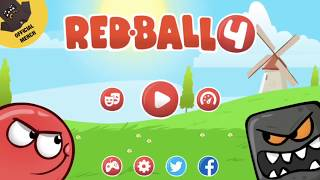 Fun Games For Kids || Games for Baby ||  Red Ball 4 ||