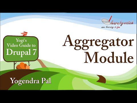 Aggregator Module in Drupal 7 (Hindi / Urdu)