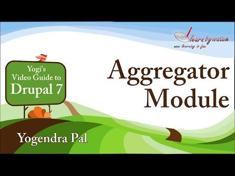 Aggregator Module in Drupal 7 (Hindi / Urdu)