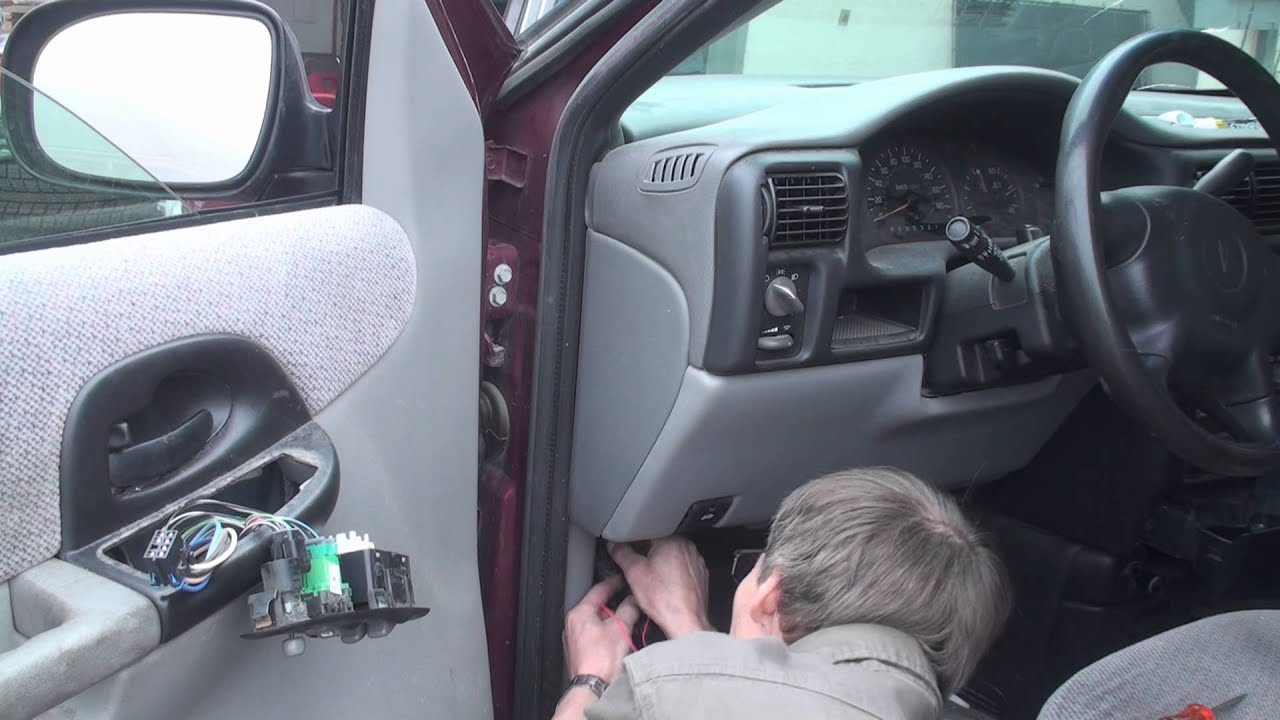 2013 Grand Caravan Wiring Diagram Van Window Won T Roll Up Fix Youtube