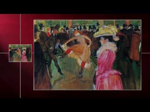TOULOSE LAUTREC- Baile en el Moulin Rouge (Obras Maestras de la Pintura Universal)