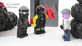 похищение бриллианта. Анимация LEGO. The abduction of a diamond. LEGO animation