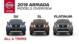 All 2019 Nissan Armada Models Explained