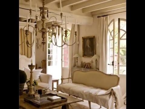 salas shabby livingrooms shabby chic salons shabby chic
