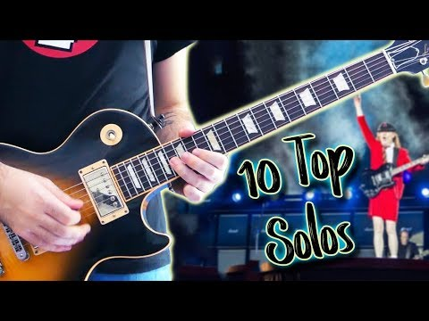 Top 10 Guitar Solos Of Each Decade  Part 1 80s