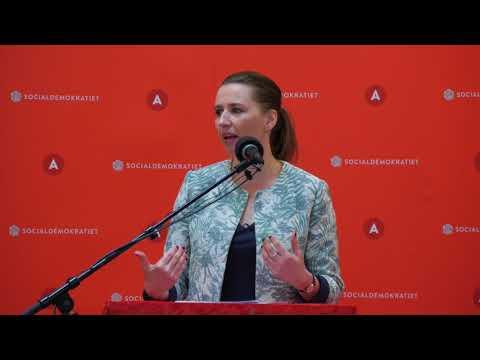 Mette Frederiksens 1. maj tale, 2018