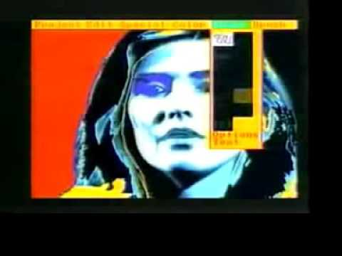 "Andy Warhol ""Paints"" Debbie Harry"