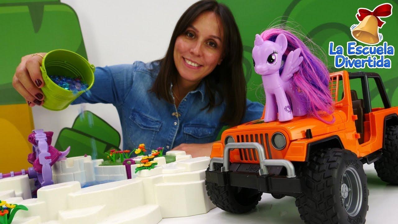 La escuela divertida el jard n m gico para my little pony youtube - My little jardin ...