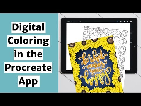 Coloring Pages In Procreate