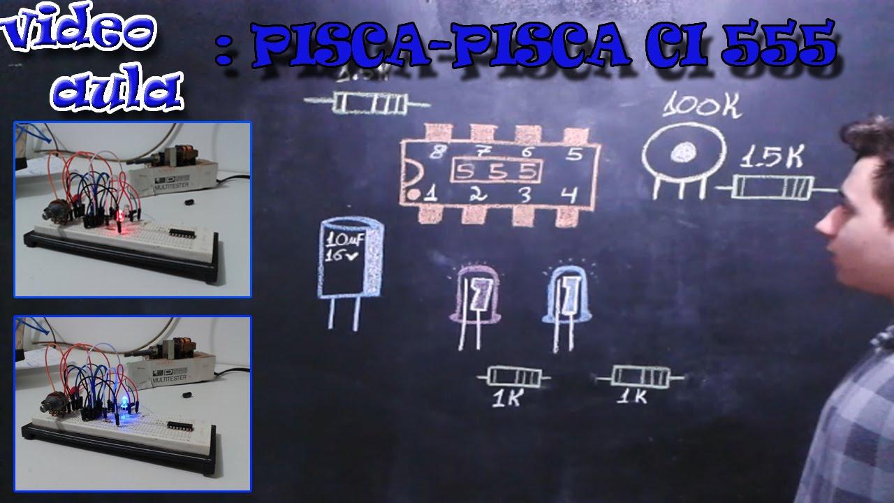 Circuito Oscilador 555 : Circuito oscilador astavel regulavel ci youtube