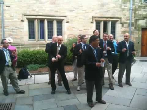 "Yale Whiffenpoofs of 1980 perform Lady Gaga's ""Bad Romance"""