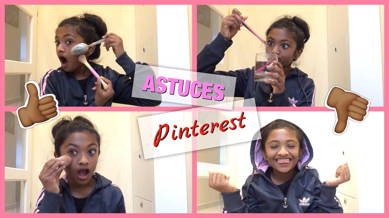 ♡ je teste les astuces de pinterest ! - youtube