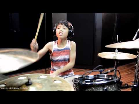 Wright Drum School - Joh Kotoda - Animals as Leaders - Tooth and Claw - Drum Cover