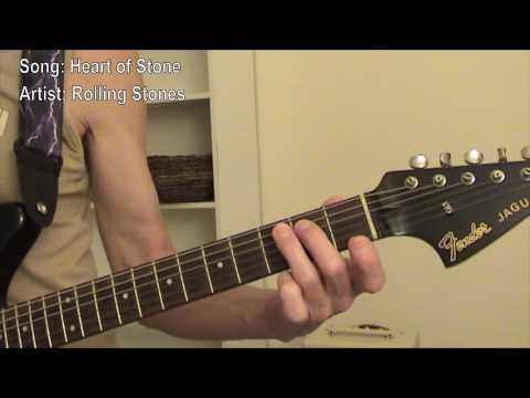 Heart of Stone - Guitar Lesson