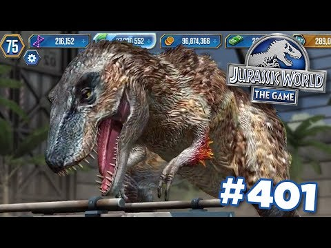 UNLOCKING LYTHRONAX!!! | Jurassic World - The Game - Ep401 HD