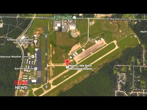 Plane crash at North Little Rock Municipal Airport