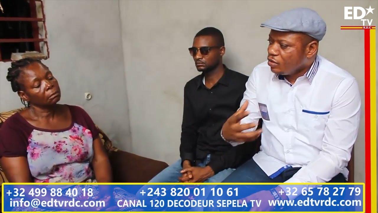 LE SG DE L'UDPS JM KABUND VISITE LA FAMILLE DE ROSSY TSHIMANGA