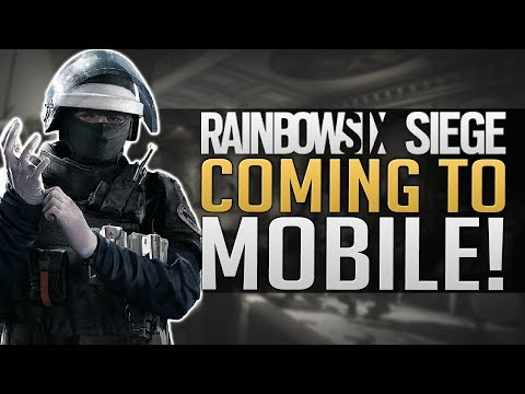 RAINBOW SIX SIEGE MOBILE | GAMEPLAY & INFO | Tencent Strikes Again