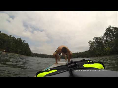 Atlanta SUP Yoga at Lake Lanier GA