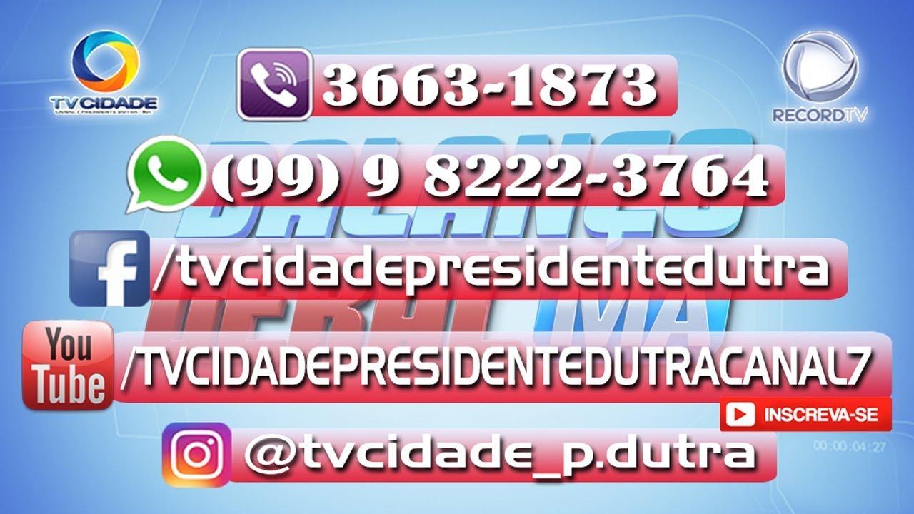 AO VIVO - PROGRAMA BALANÇO TV GERAL CIDADE CANAL 7 DO PRESIDENTE DUTRA - MA / EDIÇÃO 26-06-2020