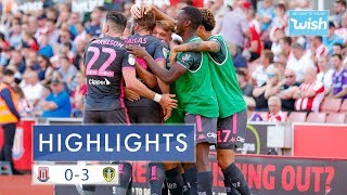 Highlights: Stoke City 0-3 Leeds United | EFL Championship