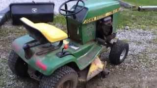 John Deere 116 Lawn Tractor