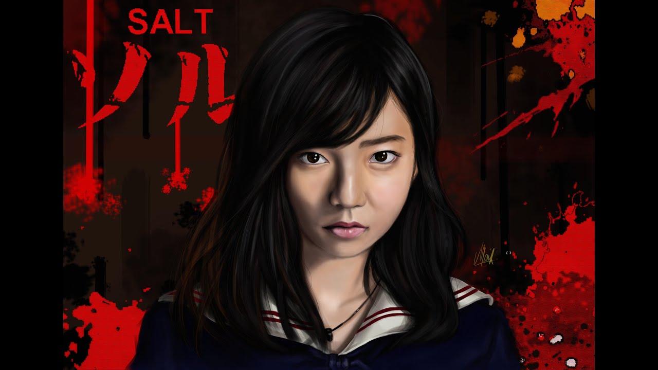 島崎遥香ソルト Digital Painting AKB48 (Shimazaki Haruka/島崎遥香) Drawing AKB48 - YouTube