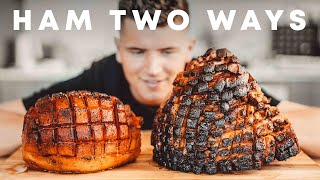 "HONEY HAM VS. VEGAN WATERMELON ""HAM"""