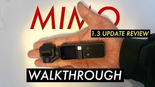 Dji Osmo Pocket Mimo App Walkthrough